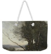 Camille Corot   The Leaning Tree Trunk Weekender Tote Bag