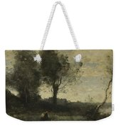 Camille Corot   The Wood Gatherer Weekender Tote Bag
