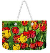 Camille's Tulips Weekender Tote Bag