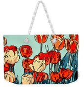 Camille's Tulips - Version 3 Weekender Tote Bag