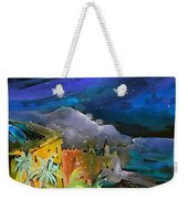 Camogli By Night In Italy Weekender Tote Bag