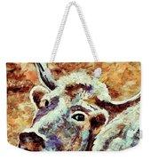 Camouflage Cow Art Weekender Tote Bag