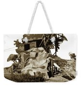 Camouflage Observation Tower Near Asilomar And The Point Pinos Lighthouse 1941 Weekender Tote Bag