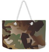 Camouflage Pattern Background  Clothing Print, Repeatable Camo G Weekender Tote Bag