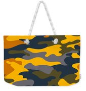 Camouflage Pattern Background Seamless Clothing Print, Repeatabl Weekender Tote Bag