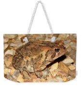 Camouflage Toad Weekender Tote Bag