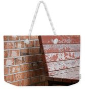 Camouflaged By The Elements Weekender Tote Bag