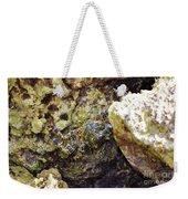 Camouflaged Crab Weekender Tote Bag