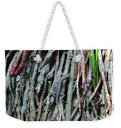 Camouflaged Lizard Weekender Tote Bag