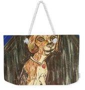 Camp Beagle Weekender Tote Bag