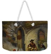 Camp Gypsies In The Ruins Of The Abbey Weekender Tote Bag
