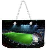 Camp Nou At Night Weekender Tote Bag by Agusti Pardo Rossello