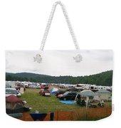 Camp Out Weekender Tote Bag