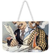 Campaign Contributions Weekender Tote Bag