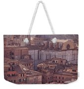 Campanile And Cathedral In Siena Italy Antique Matte Weekender Tote Bag
