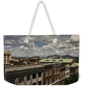 Campbell Avenue Rooftops Roanoke Virginia Weekender Tote Bag
