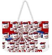 Campbells Mushroom Soup Squared Weekender Tote Bag
