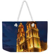 Campeche Cathedral At Evening Weekender Tote Bag