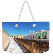 Campeche Wall And City View Weekender Tote Bag