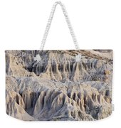 Campers And Eroded Cliffs At Ricardo Weekender Tote Bag