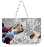 Campfire S'mores Weekender Tote Bag