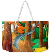 Camping - Through The Forest Series Weekender Tote Bag