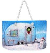Camping Christmas  Weekender Tote Bag