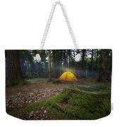 Camping Weekender Tote Bag