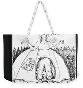 Camping Homeless Weekender Tote Bag