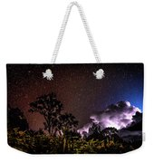 Camping On The Volcano Weekender Tote Bag