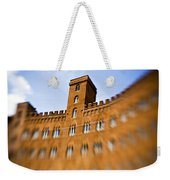 Campo Of Siena Tuscany Italy Weekender Tote Bag