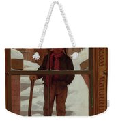 Can I Shovel Off The Snow ? Weekender Tote Bag