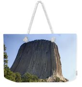 Can You Find The Climbers On Devils Tower Wyoming -1 Weekender Tote Bag