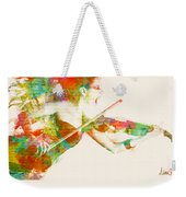Can You Hear Me Now Weekender Tote Bag by Nikki Smith