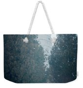 Cana Island Lighthouse Wisconsin Painterly Weekender Tote Bag
