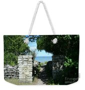 Cana Island Walkway Wi Weekender Tote Bag