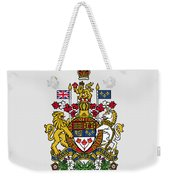 Canada Coat Of Arms Weekender Tote Bag