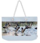 Canada Geese 1390-011618-1 Weekender Tote Bag