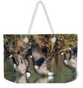 Canada Geese 5659-092217-1cr-p Weekender Tote Bag