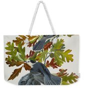 Canada Jay Weekender Tote Bag by John James Audubon