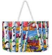 Canadian Birches By Prankearts Weekender Tote Bag