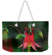 Canadian Columbine Weekender Tote Bag