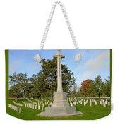 Canadian Cross Of Sacrifice Weekender Tote Bag
