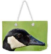 Canadian Goose Portrait Weekender Tote Bag
