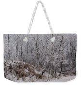 Canadian Ice Fog  Weekender Tote Bag