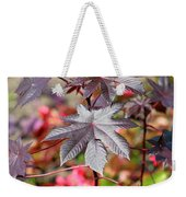 Canadian Leaf Weekender Tote Bag
