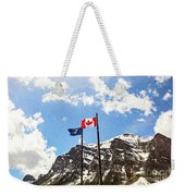 Canadian Rockies - Digital Painting Weekender Tote Bag