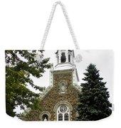Canadian Rural Church Weekender Tote Bag