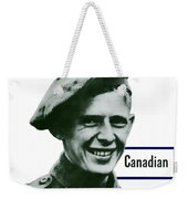 Canadian This Man Is Your Friend Weekender Tote Bag