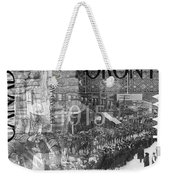 Canadian Wwi Nostalgic Collage Weekender Tote Bag